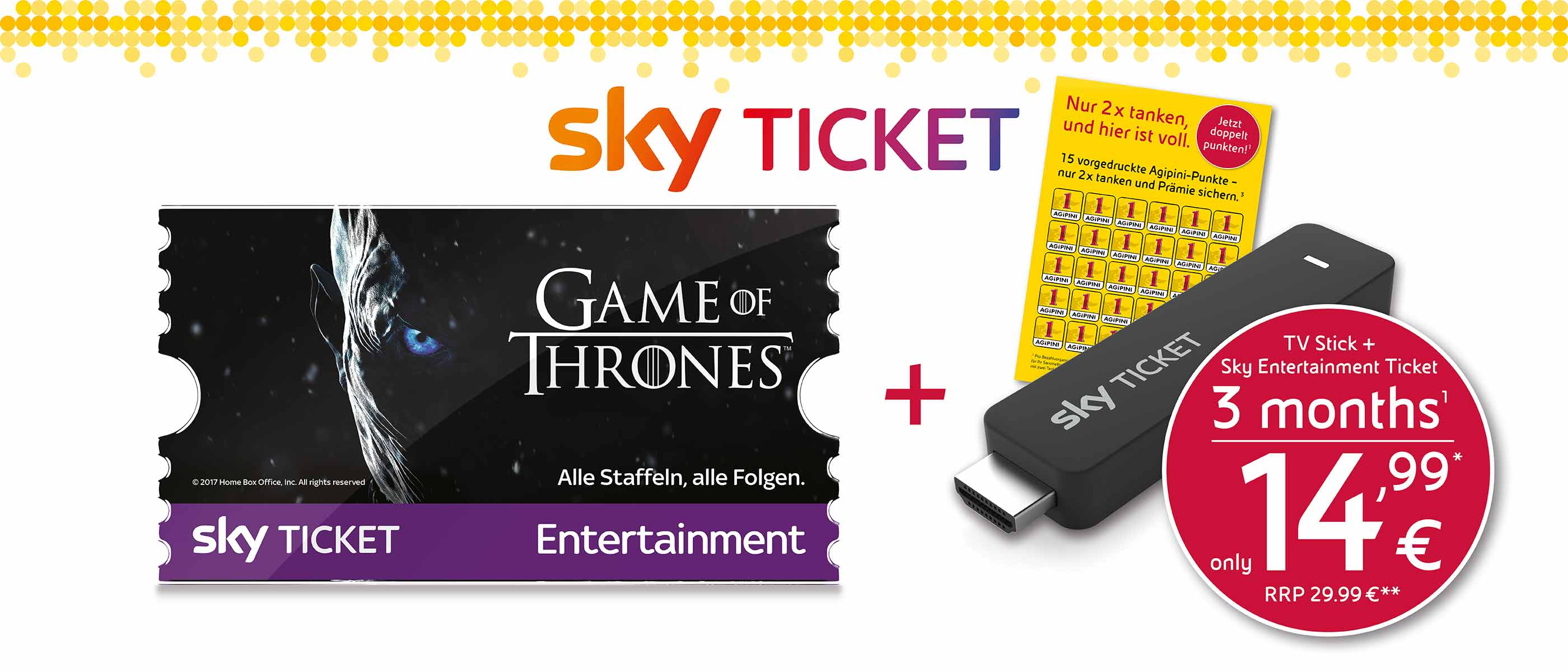 Agipini Sky Ticket Promotion