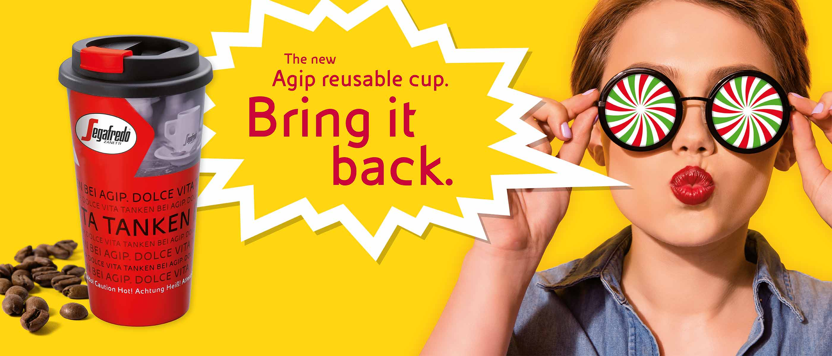 Agip Reusable Cup